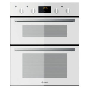 Indesit double oven - built under