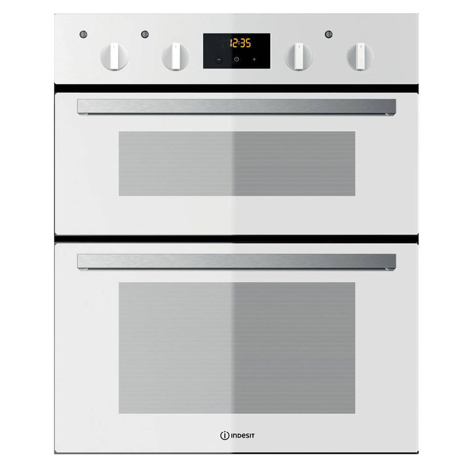 Indesit Built-Under Double Oven