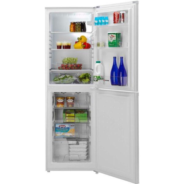 Montpellier fridge freezer with the doors open
