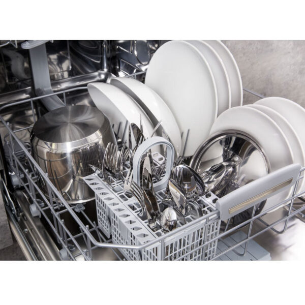 Hotpoint Integrated Dishwasher bottom basket