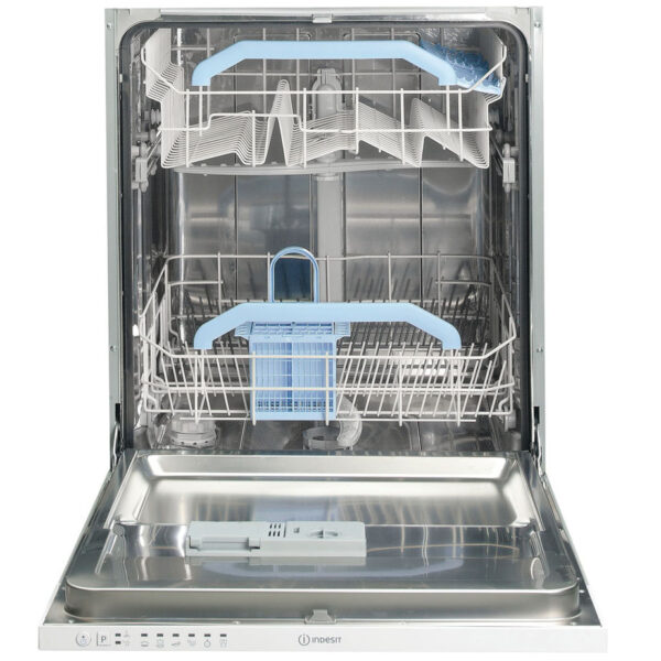 Indesit Integrated Dishwasher with the door open