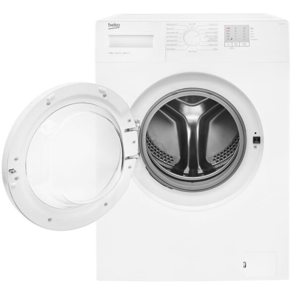 Beko Washing Machine front with the door open