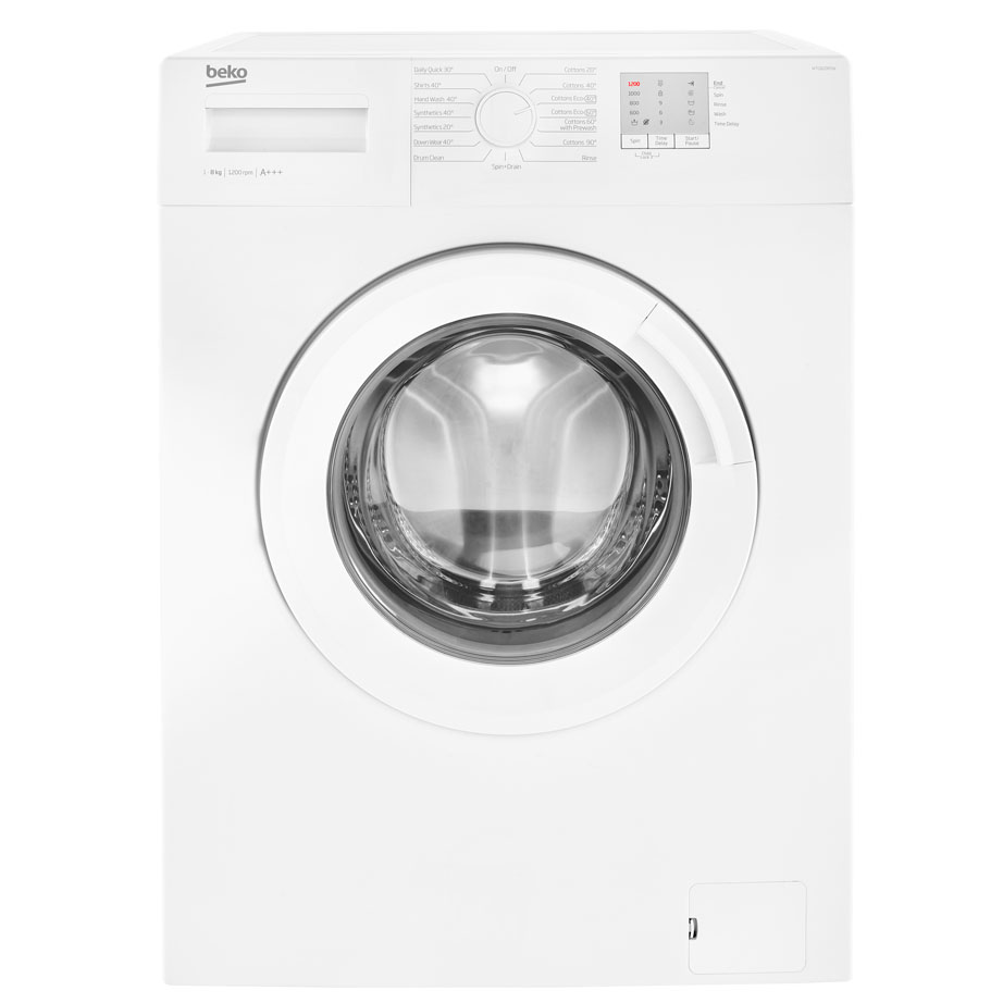 Beko Washing Machine 8kg/1200rpm