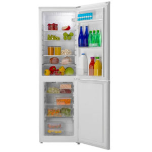 Candy Fridge Freezer with food inside