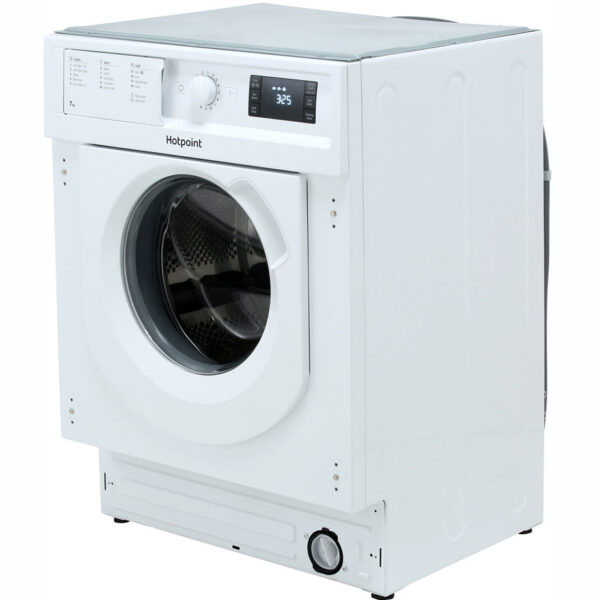 Hotpoint Integrated Washing Machine on an angle