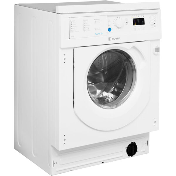 Indesit Washer Dryer side angle