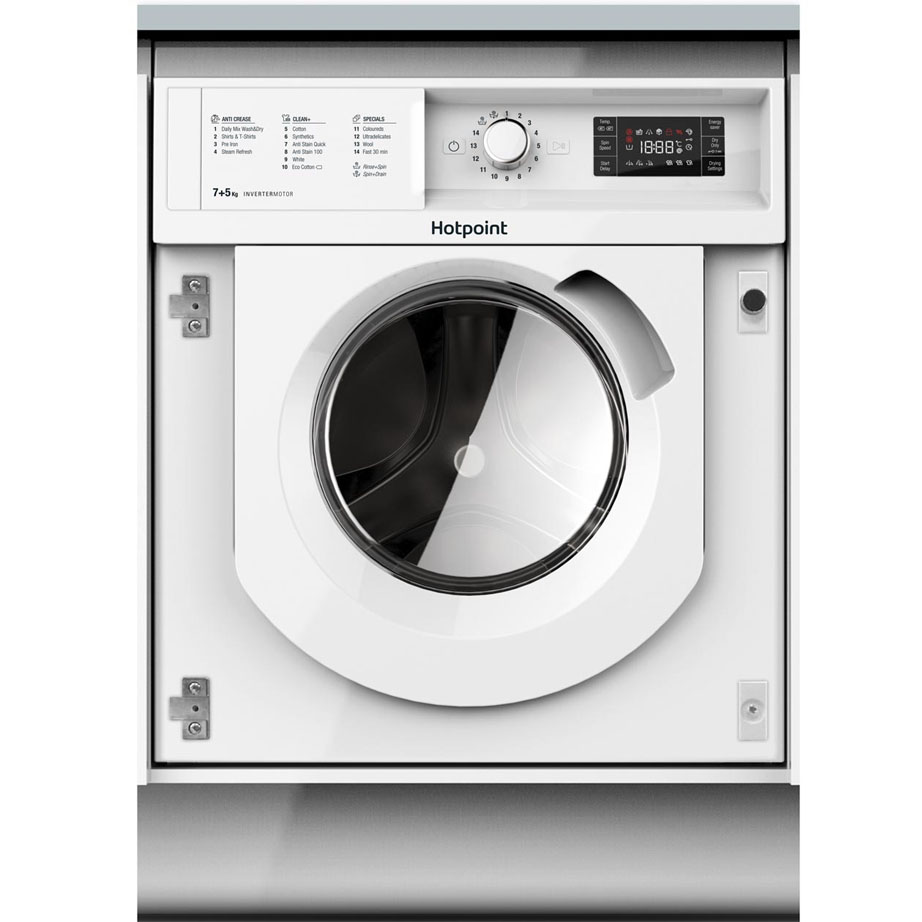 Hotpoint Integrated Washer/Dryer 7kg/1200rpm