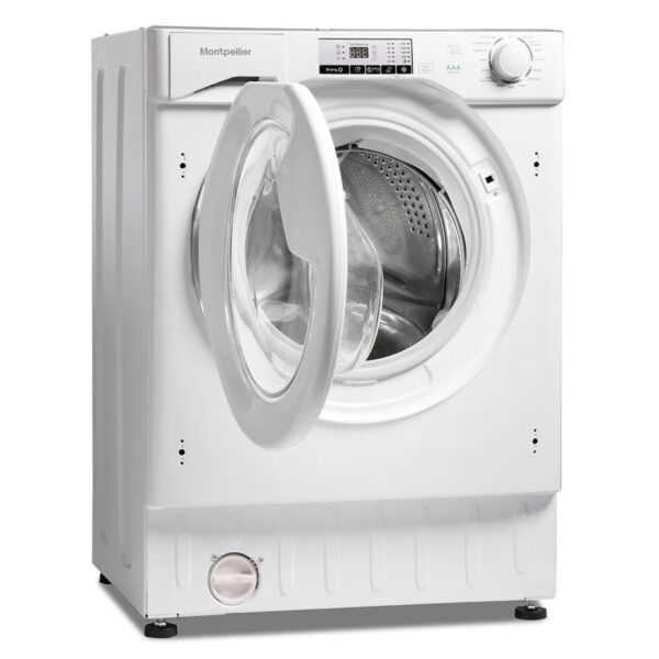 Montpellier Integrated Washer Dryer with the door open
