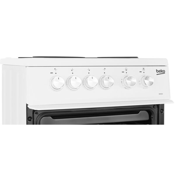 Beko Freestanding Cooker facia panel