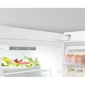 Hisense Fridge Freezer temperature display
