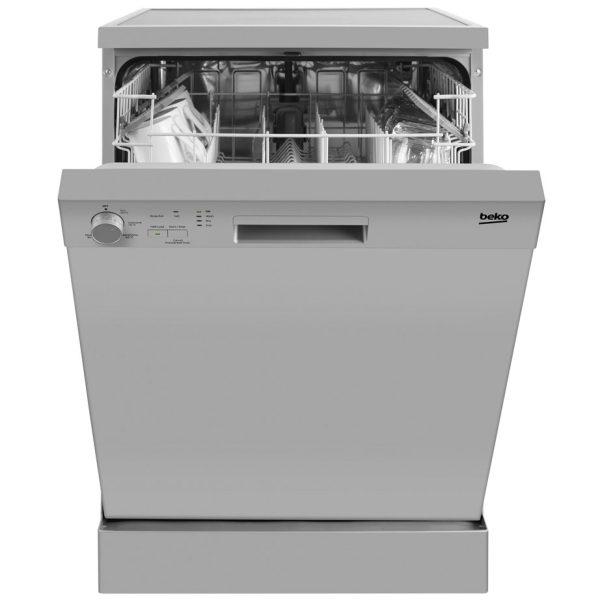 Beko Freestanding Dishwasher with the door slightly open