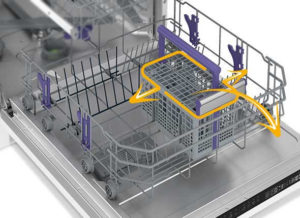 Beko dishwasher cutlery basket