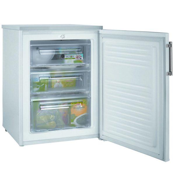 Hoover freezer with the door open