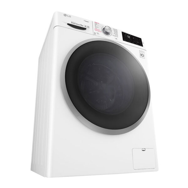 LG Washing Machine view from bottom corner