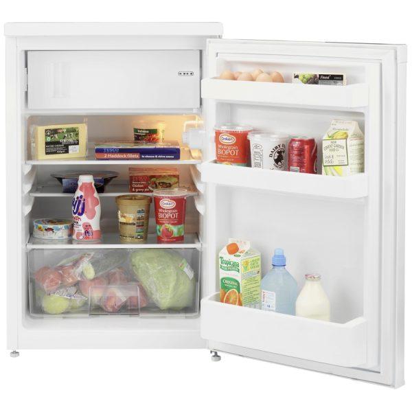 Beko Fridge with ice box with the door open
