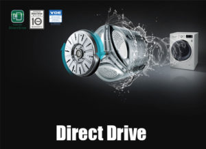 LG washing machine direct drive