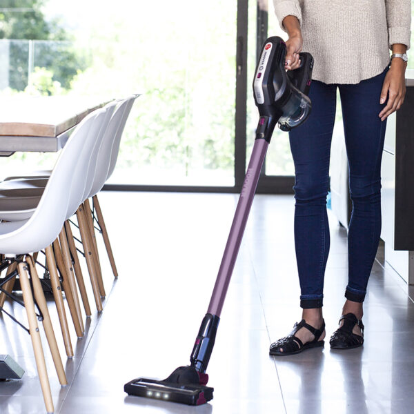 Hoover Cordless Vacuum Cleaner in use