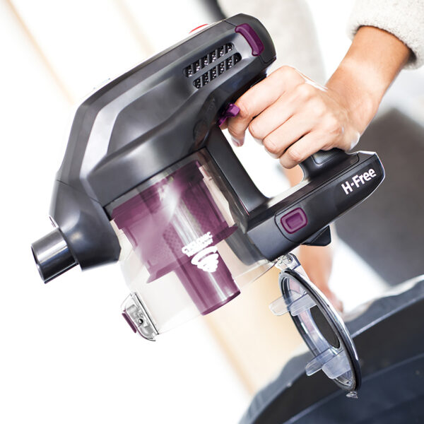 Hoover Cordless Vacuum Cleaner easy empty bin