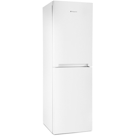 Hotpoint Fridge Freezer on an angle