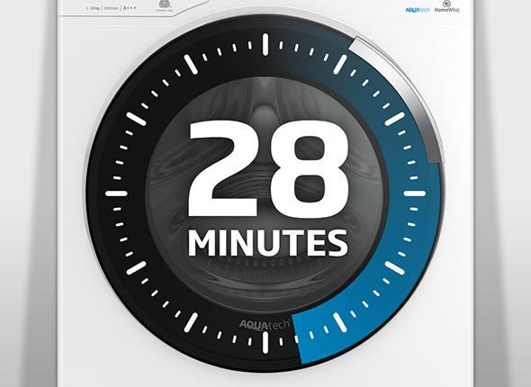 28 minute fast wash