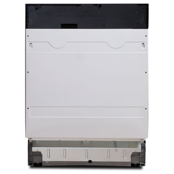 Montpellier integrated dishwasher with the door closed