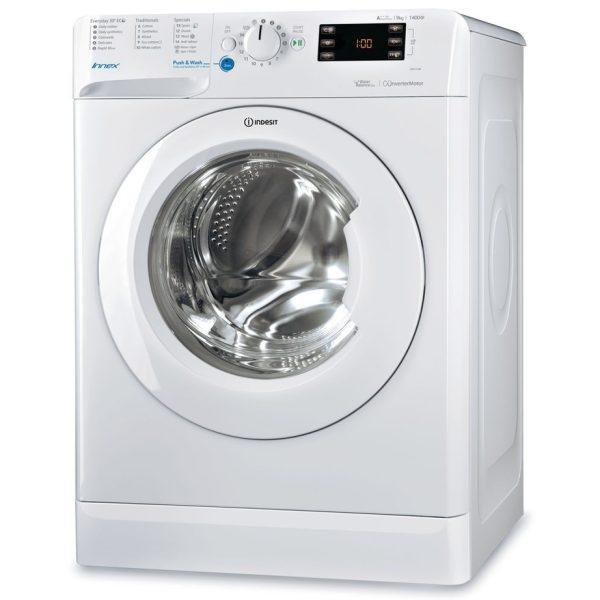 Indesit Washing Machine 9kg, 1400spin