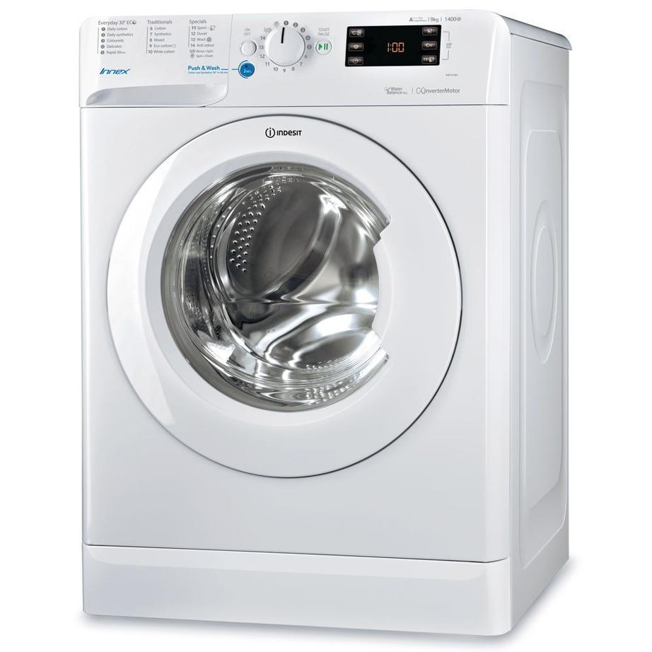 Indesit Washing Machine 9kg/1400rpm