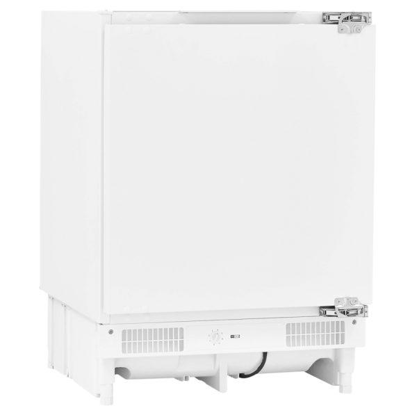 Fridgemaster Integrated Freezer on an angle