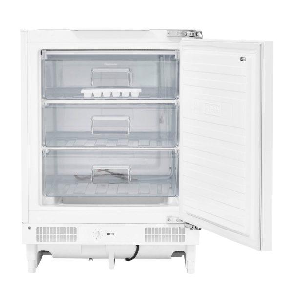 Fridgemaster Integrated Freezer with the door open