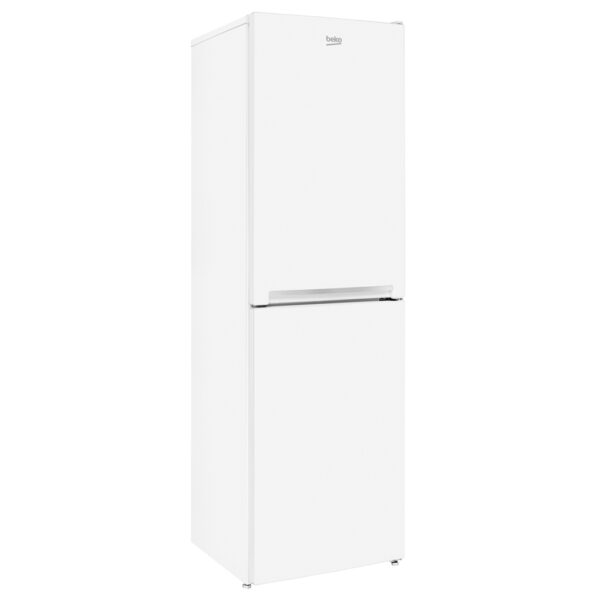 Beko Fridge Freezer on an angle