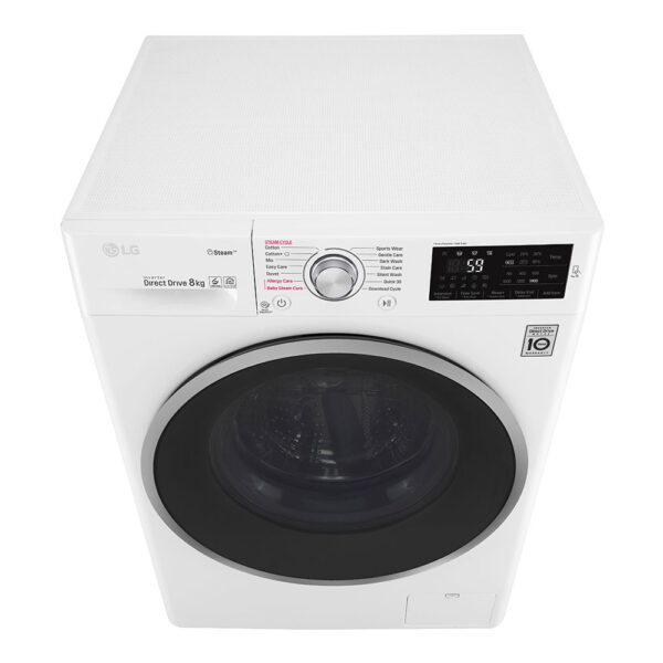LG Washing Machine from above