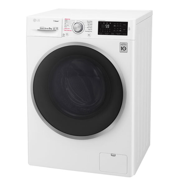 LG Washing Machine on an angle