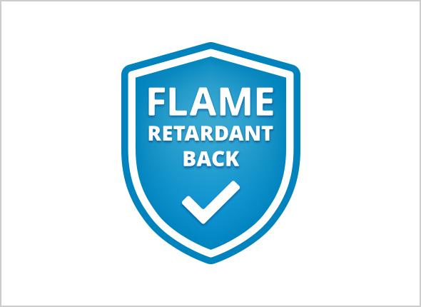 Beko Flame Retardant Back
