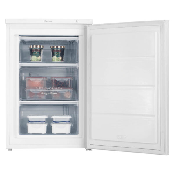 Fridgemaster Freezer with food inside