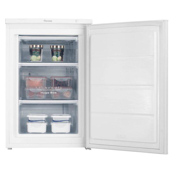 Fridgemaster Freezer with food inside