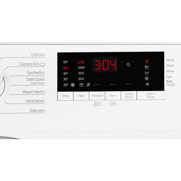Beko Integrated Washing Machine led display