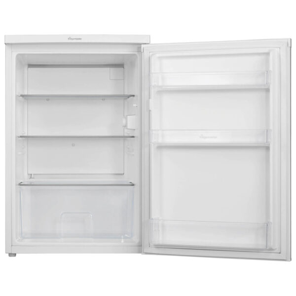 Fridgemaster Larder Fridge with the door open