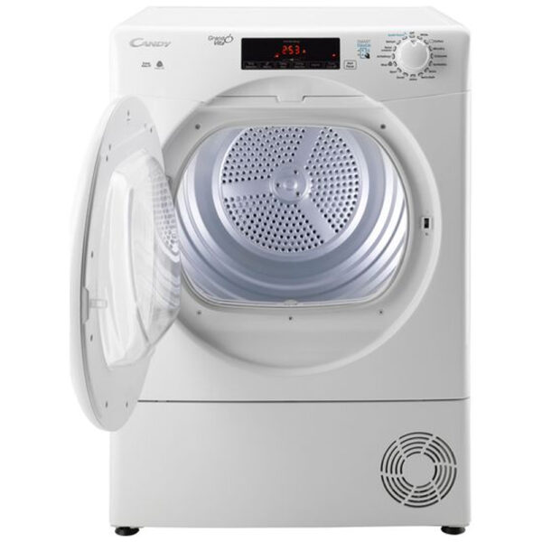 Candy Condenser Tumble Dryer with the door open