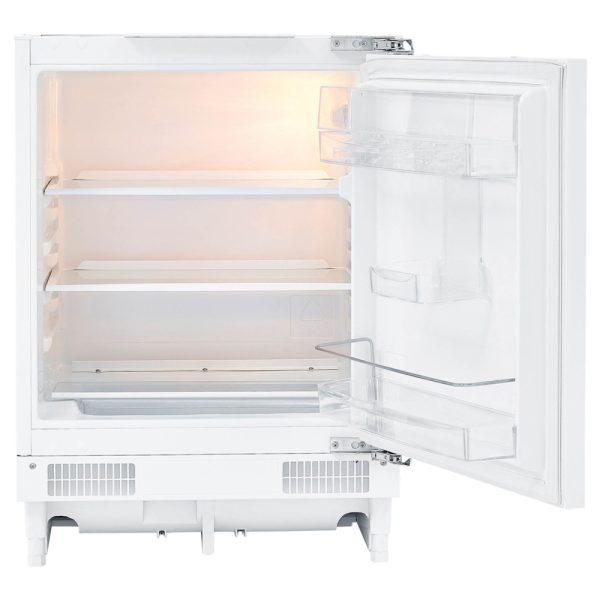 Firdgemaster Built-under larder fridge with the door open