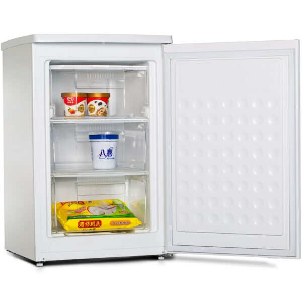 Teknix Freezer with the door open