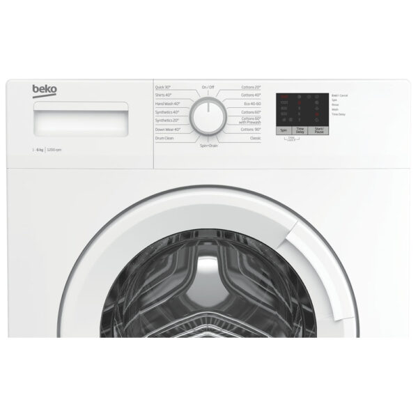 Beko washing machine facia panel