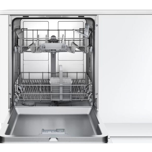 Bosch Fully Integrated Dishwasher with the door open