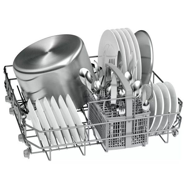 Bosch Fully Integrated Dishwasher bottom cutlery basket