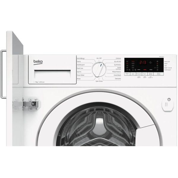 Beko Integrated Washing Machine facia panel