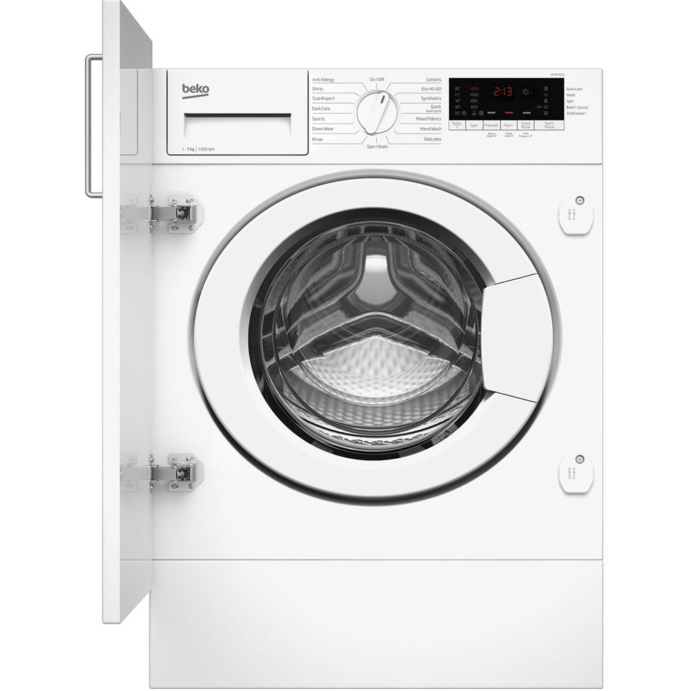 Beko Integrated Washing Machine 7kg/1200rpm