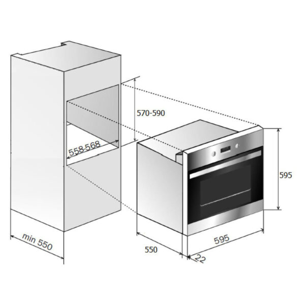 Prima Single Oven schematic