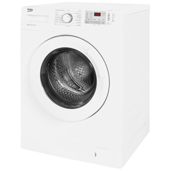 Beko Washing Machine on a slight angle