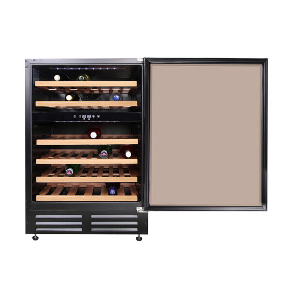 Belling Wine Fridge with the door open