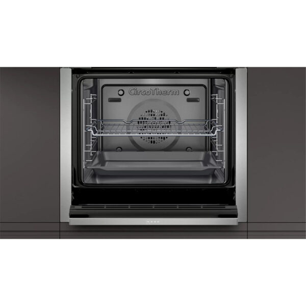 Neff Single Oven with the door open
