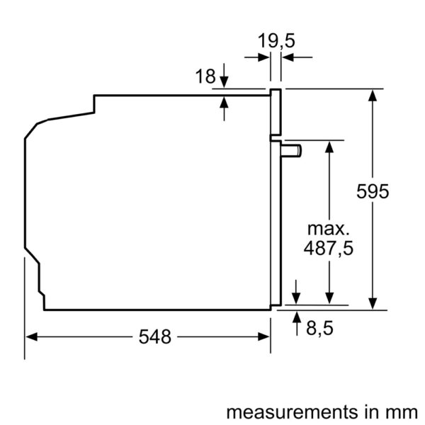 Neff Single Oven schematic